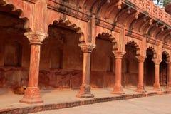 Architecture at Taj Mahal entrance Royalty Free Stock Images