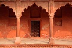 Architecture at Taj Mahal entrance Royalty Free Stock Photography