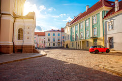Architecture in Tallin Stock Images