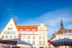 Architecture in Tallin Royalty Free Stock Image