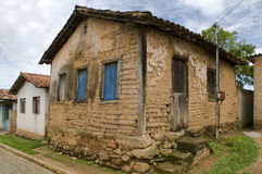 Architecture technic: The Wattle and daub. Wattle and daub (or wattle-and-daub) is a building material used for making walls, in which a woven lattice of wooden Royalty Free Stock Photography