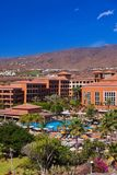 Architecture at Tenerife island - Canaries vacation background stock images