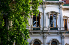Architecture and textures from the colorful city of Istanbul Royalty Free Stock Photography