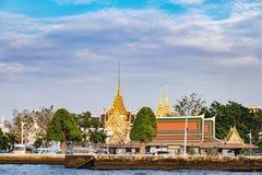 Architecture thaïlandaise classique à Bangkok, Thaïlande Photographie stock libre de droits