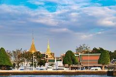 Architecture thaïlandaise classique à Bangkok, Thaïlande image stock
