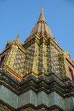 Architecture thaïlandaise : Pho de Wat, Bangkok, Thaïlande Images stock