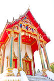 Architecture of thai temple church Stock Images