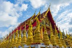Architecture in thailand. Buddhist monastery architecture in Thailand so the beautiful Stock Images