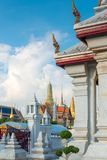 The architecture of Thailand and a view of the Royal Palace royalty free stock photo