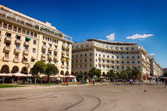 Architecture in Thessaloniki Royalty Free Stock Photography