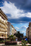 Architecture in Thessaloniki Royalty Free Stock Photos