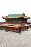 Architecture tibétaine dans le temple de Putuo Photos libres de droits