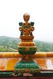 Architecture tibétaine dans le temple de Putuo Images libres de droits