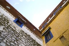 Architecture in Tibet Royalty Free Stock Photography