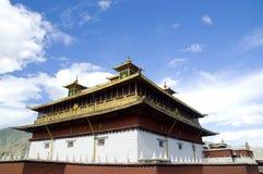 Architecture in Tibet Stock Photo