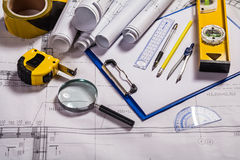 Architecture Tools Royalty Free Stock Photo