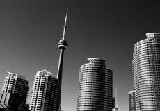 Architecture of Toronto Royalty Free Stock Photography