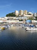 Architecture of Torquay, England Royalty Free Stock Images