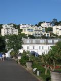 Architecture of Torquay, England Royalty Free Stock Image