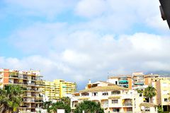 Architecture of Torremolinos, Costa del Sol, Spain Royalty Free Stock Photography