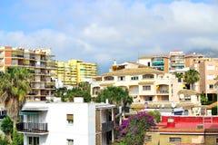 Architecture of Torremolinos, Costa del Sol, Spain Royalty Free Stock Photos