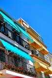 Architecture of Torremolinos, Costa del Sol, Spain Stock Photography