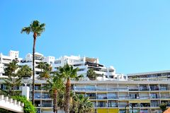 Architecture of Torremolinos, Costa del Sol, Spain Royalty Free Stock Image