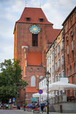 Architecture of Torun old town Royalty Free Stock Image