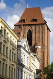 Architecture of Torun old town, Poland Royalty Free Stock Photography