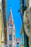 Architecture tower in Florence, Italy. Stock Image