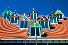 Architecture of the town hall in Zaandam Royalty Free Stock Images