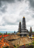 Traditional balinese architecture. The Pura Besaki Royalty Free Stock Photos