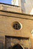 Architecture traditionnelle d'église du centre du CIT espagnol Images stock