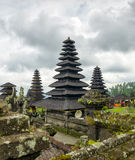 Architecture traditionnelle de balinese. Le temple de Pura Besakih Images stock