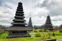 Architecture traditionnelle de balinese. Le temple de Pura Besakih Image libre de droits