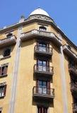 Architecture traditionnelle de Barcelone Photo stock