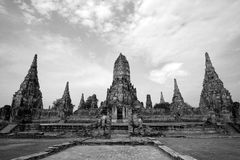 Architecture traditionnelle thaïe Photographie stock libre de droits