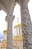 Architecture of the Trinity Lavra monastery. Russia Royalty Free Stock Photos