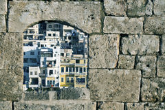 Architecture of Tripoli. Seen from the Citadel Stock Photos