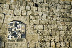 Architecture of Tripoli. Seen from the Citadel Stock Image