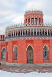 Architecture of Tsaritsyno park in Moscow Stock Photos