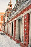 Architecture of Tsaritsyno park in Moscow. Color photo. Royalty Free Stock Photos