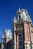 Architecture of Tsaritsyno park in Moscow. Grand Palace. Stock Photo
