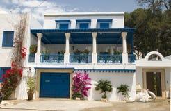 Architecture Tunisia Africa Sidi Bou Said Stock Photos