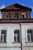 Architecture of Tutaev town, Russia. Manor of the merchant Stepan Vagin Stock Photo
