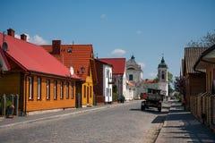 Architecture of Tykocin Town Stock Image