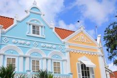 Architecture typique de conception de Néerlandais Photo stock