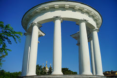 Architecture of Ukraine. Poltava city Royalty Free Stock Image