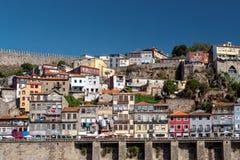 Architecture unique de bord de mer du ` s de Porto, Porto, Portugal photo stock