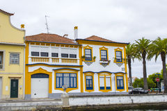 Architecture urbaine, Aveiro, Portugal photo libre de droits